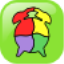 kids shape puzzle app icon